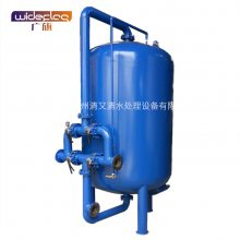 广旗热销中山南朗镇电子厂空调冷却水过滤器 循环水回用砂滤罐