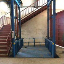 济阳航天升降机厂家 供应1吨2吨家用升降机 固定剪叉式升降货梯 3米载货升降机