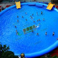 水上浮具游泳池水上滚筒球大型充气水池