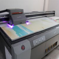 江西拉杆箱图案印花设备 旅行箱3D浮雕打印机 ABS推拉箱UV平板打印机