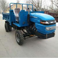 建筑工地拉砂石四轮工程车_四缸拉5吨渣石四不像拖拉机_配置不同价格低