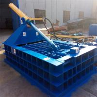 工厂加工制定各种液压金属压块机 力锋400吨压力重型铁屑车床屑压块机