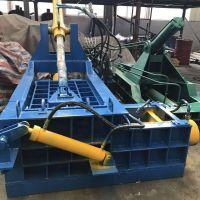 废旧金属打包机专业生产厂家 郑州攀奇机械金属压块机 金属剪切压块机厂家
