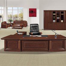 汝阳老板办公桌椅报价-【马头办公班台】-洛阳老板办公桌椅
