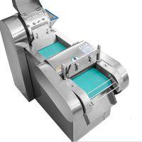 全钢快速无机头切菜机 离心式切菜机原理冬瓜切片海带切丝机