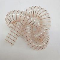 耐磨通风吸尘软管SINHON-819 TPU钢丝伸缩波纹管