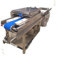 生产康汇牌切肉片机 肉类切片设备 连续式鲜肉鸡鸭肉切片机器