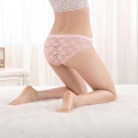 云梦妮厂家直销外贸原单性感蕾丝女士内裤速卖通亚马逊女式三角裤
