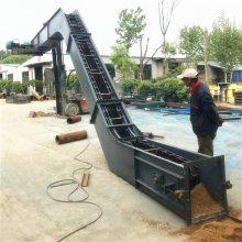耐高温能耗低饲料刮板输送机_全自动优质带式刮板输送机_港口用刮板输送机供应