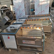 华邦红薯清洗机 芋头清洗设备 连续式胡萝卜清洗流水线 厂家直营 售后无忧