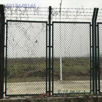 海关物理围网 珠海刀刺围栏包安装 肇庆金属菱形孔围网