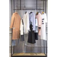 艺素国际一线品牌尾货折扣女装 北京外贸尾货批发市场在哪白色T恤