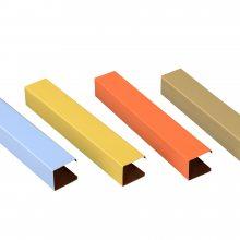 【地铁木纹铝方通】-地铁U型铝天花-地铁吊顶供应商
