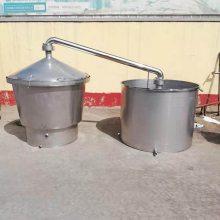 小型熟料烤酒设备 各种型号 家用湿料双层保温酿酒设备 液态双层保温酿酒设备