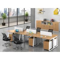 定制职员办公桌 4人位员工电脑桌 隔断卡座 简约现代办公家具