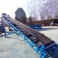 混凝土装卸车输送机 邯郸市粮食装卸皮带机 16米长带式输送机