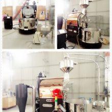 大型加厚不锈钢咖啡烘焙机 PLC大屏咖啡烘焙机 东亿大型商用咖啡烘焙机 南阳东亿