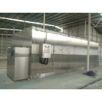 厂家直销大虾隧道式速冻机 北极甜虾网带式单冻机 单冻机