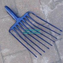 厂家直销铁路专用九齿钢叉九股钢叉九齿石子钢叉多股叉