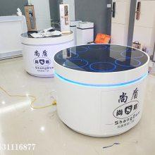 衢州 密码锁柜 云米 异型智能锁展示柜定做厂家