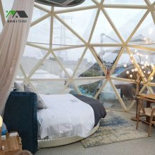玻璃球形帐篷房 景区民宿特色建筑阳光房屋 广东帐篷厂家定制生产