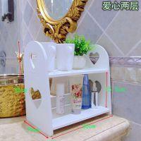多层化妆品收纳盒桌面装放洗漱台洗手间的架子卫生间桌上箱置物架