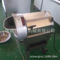 供应萝卜土豆连续式切丁机 多功能切菜机报价 台湾进口