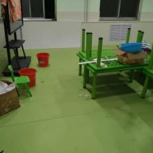 工厂直供PVC幼儿园运动地板/欧宝瑞平纹塑胶地板