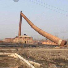 60米砖烟筒人工拆除施工队