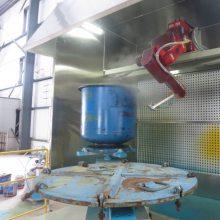 木板自动喷漆机械手,家具自动喷漆机器人