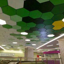 六边形冲孔铝单板定做 氟碳铝板吊顶