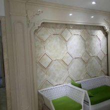 石家庄环保金镶瓷价格 瓷砖水刀镶嵌背景墙 可加工定制
