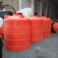 【华社】供应大号黑色PE塑料收纳桶 红色2000L塑料化工桶