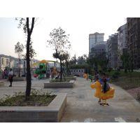 儿童塑料木马动物玩具广场小区游乐设施单人摇定制仿真动物摇摇乐