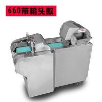 华晨菠萝切片机/火龙果苹果切片机/菱形海带切块机