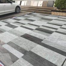 芝麻灰石材厂家直销芝麻灰机切面路边石图片 路侧石价格 路缘石