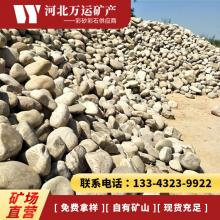 万运厂家供应卵石 河道鹅卵石 水处理鹅卵石