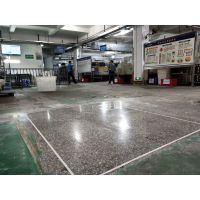 恩平市水磨石地面翻新+洪滘厂房水磨石抛光、旧地面清洗