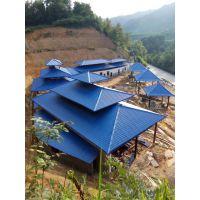 金平树脂瓦,红河州金平县扶贫工程树脂瓦厂家直供