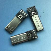 加长MICRO 5P公头焊线式前五后四 USB迈克加长插座