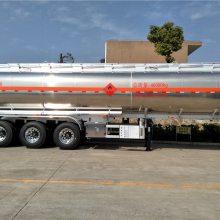 半挂运油车价格,解放铝合金油罐车,30吨40吨运油车价格