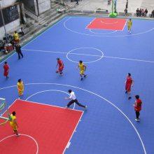 厂家篮球场塑胶地板 篮球场PVC地板 篮球场悬浮地板 室外篮球场地面材料 网球场户外地垫 轮滑场地面