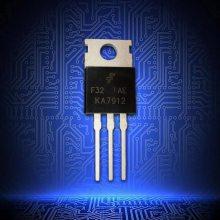 KA7912原装 集成电路 负电压调节器 三端稳压管-12V 1A 封装TO-220-3