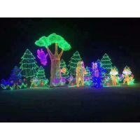 全新视觉美观 LED灯光节造型制作 灯光展价格单