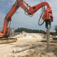 挖机打桩机价格 振动锤厂家 打桩锤市场