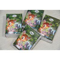 广告手帕纸巾定制价格,4层8片原生木浆手帕纸定做价格