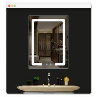 定制浴室镜柜挂墙式卫生间镜子置物架厕所北欧镜箱灯洗脸智能镜