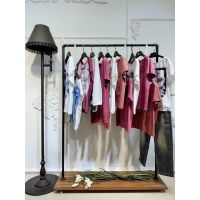 tiamo.雅女装品牌折扣女装店加盟广州尾货市场在哪里批发市场在哪里休闲猪皮皮衣