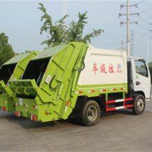 压缩式垃圾车价格 8立方后装垃圾车型号参数