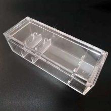 北京亚克力注塑盒订做 透明有机玻璃注塑水果盒首饰盒 亚克力制品加工